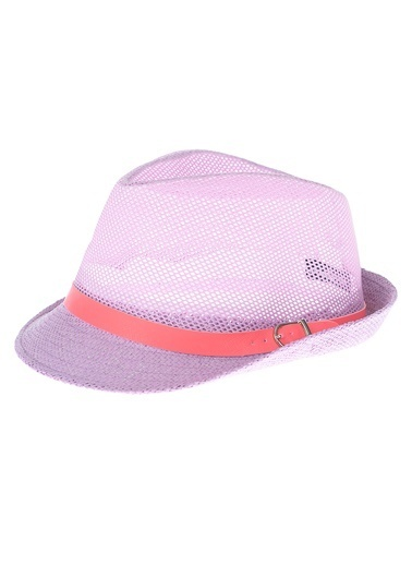 Bay Şapkacı Şapka Lila